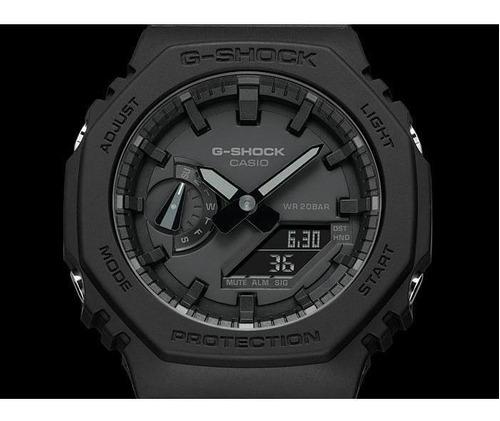 reloj casio g-shock carbon core guard  ga-2100-1a1