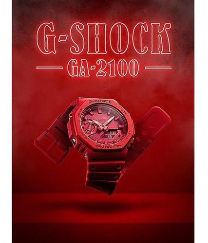 reloj casio g-shock carbon core guard ga-2100-4a