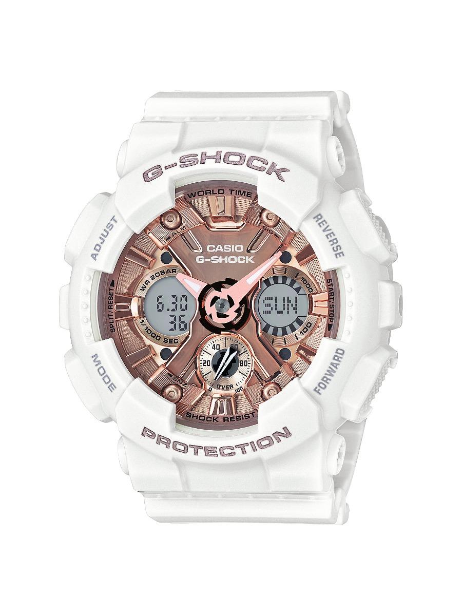 Reloj Casio G Shock De Acero Inoxidable Y Resina Casual