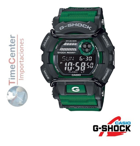 reloj casio g-shock deportivo wr200m gd-400-3dr