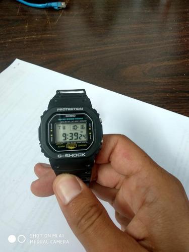 reloj casio g-shock dw-5200 modelo año 1985