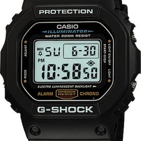 Reloj Casio G shock Dw 5600e 1vx Reloj Digital Negro ¡nuevo!