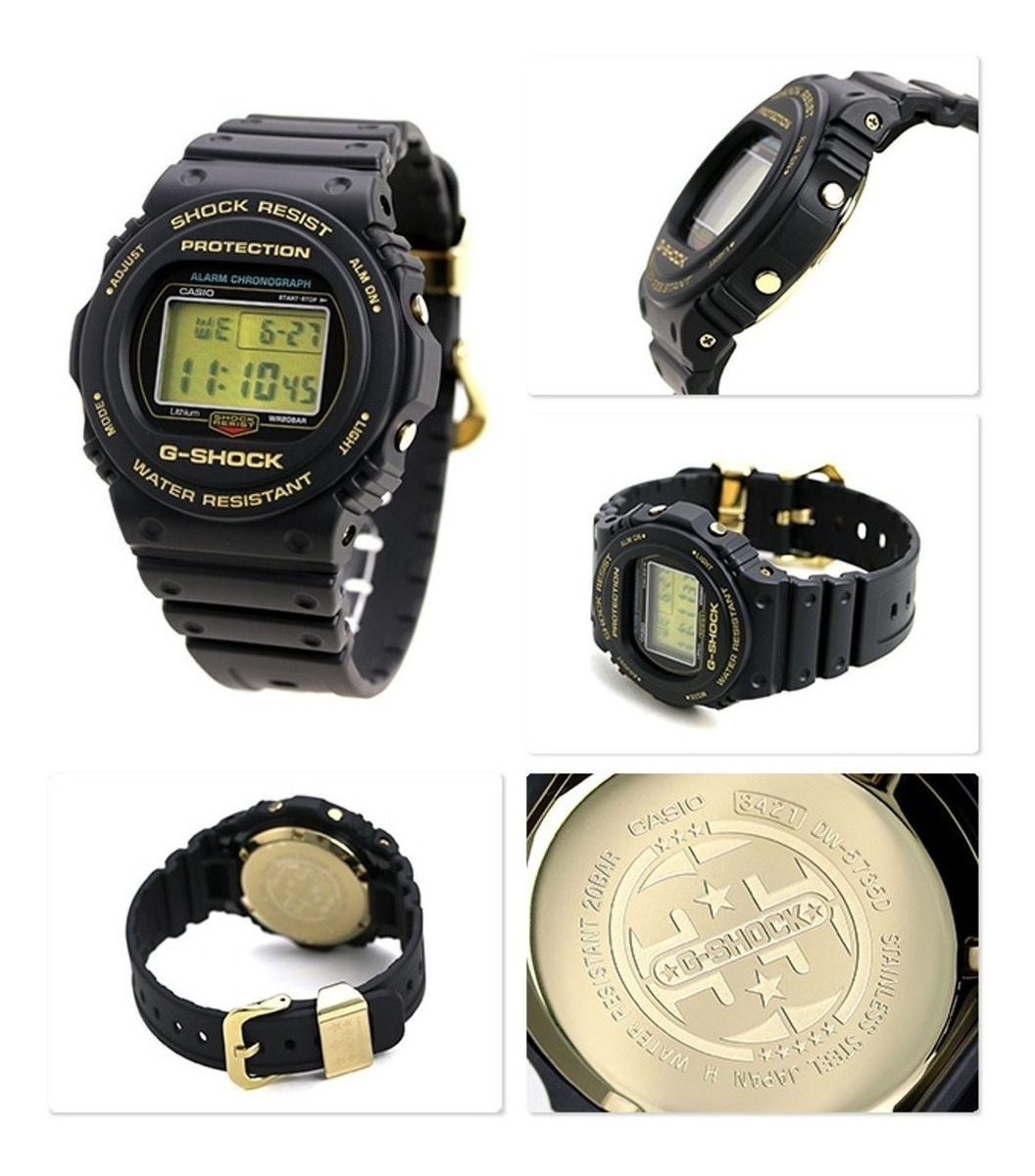 35 Casio Shock G Reloj 5735 Aniversario Dw Limitada Edición T13KFclJ