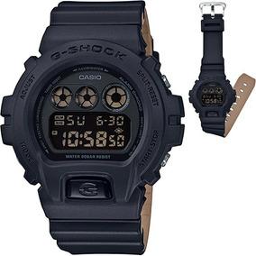 Reloj Casio G Shock Dw 6900 Edición Bicolor Negro Arena