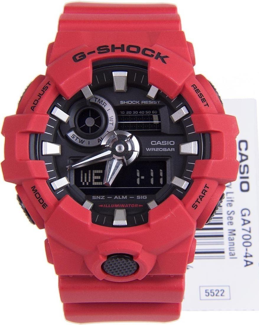 a3c498390022 reloj casio g-shock estándar analógico digital ga 700-4. Cargando zoom.