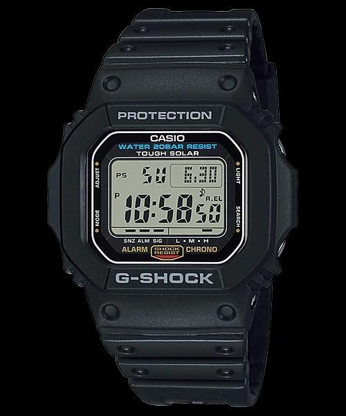 Reloj Casio G shock G 5600e 1 G 5600 Hombre Solar    Cuotas
