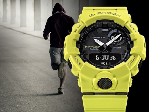 reloj casio g-shock g-squad gba-800-a step tracker