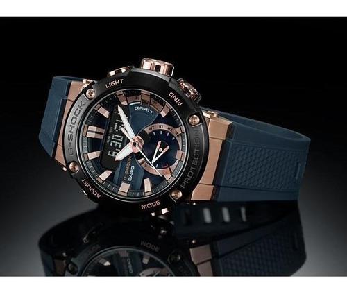 reloj casio g-shock g-steel gst-b200g-2a