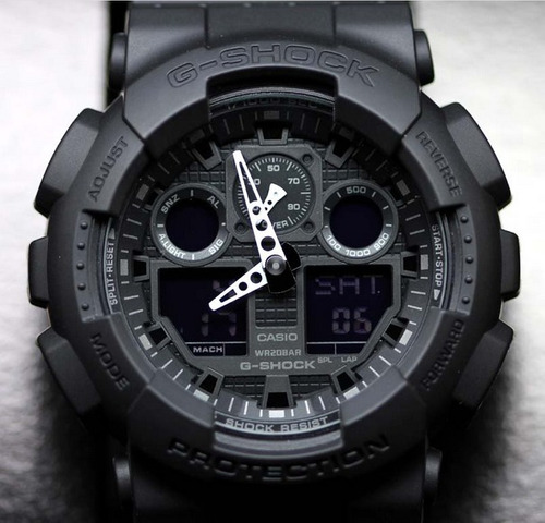 reloj casio g-shock ga-100-1a1   - 100% nuevo y original