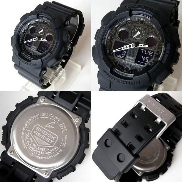 c7ce030fab3 Reloj Casio G-shock Ga-100-1a1 - 100% Nuevo Y Original - S  359