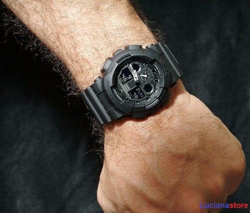 reloj casio g-shock ga-100-1a1 -100% original nuevo - ztr