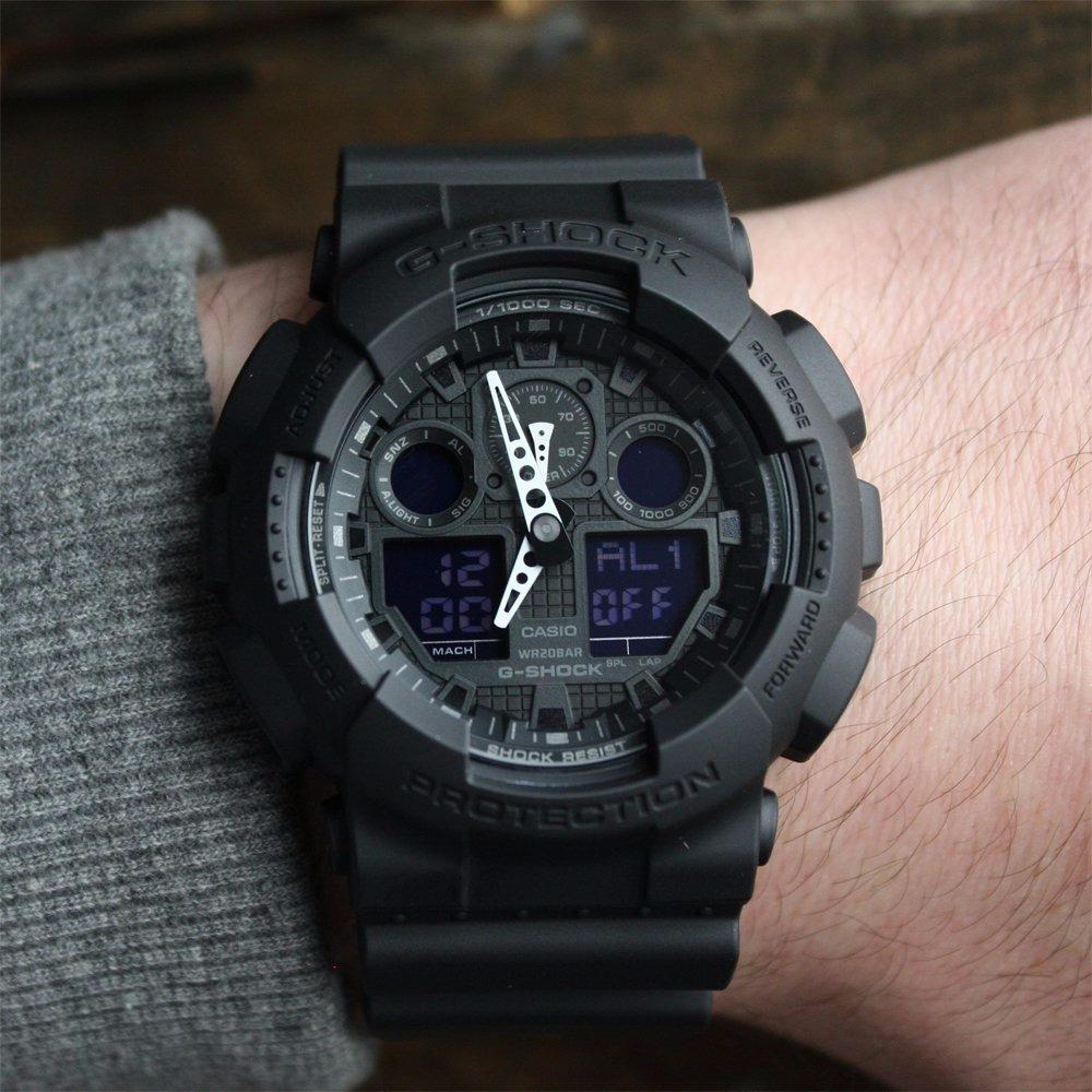 814ba06362ee1 reloj casio g-shock ga-100-1a1 original nuevo en caja. Cargando zoom.