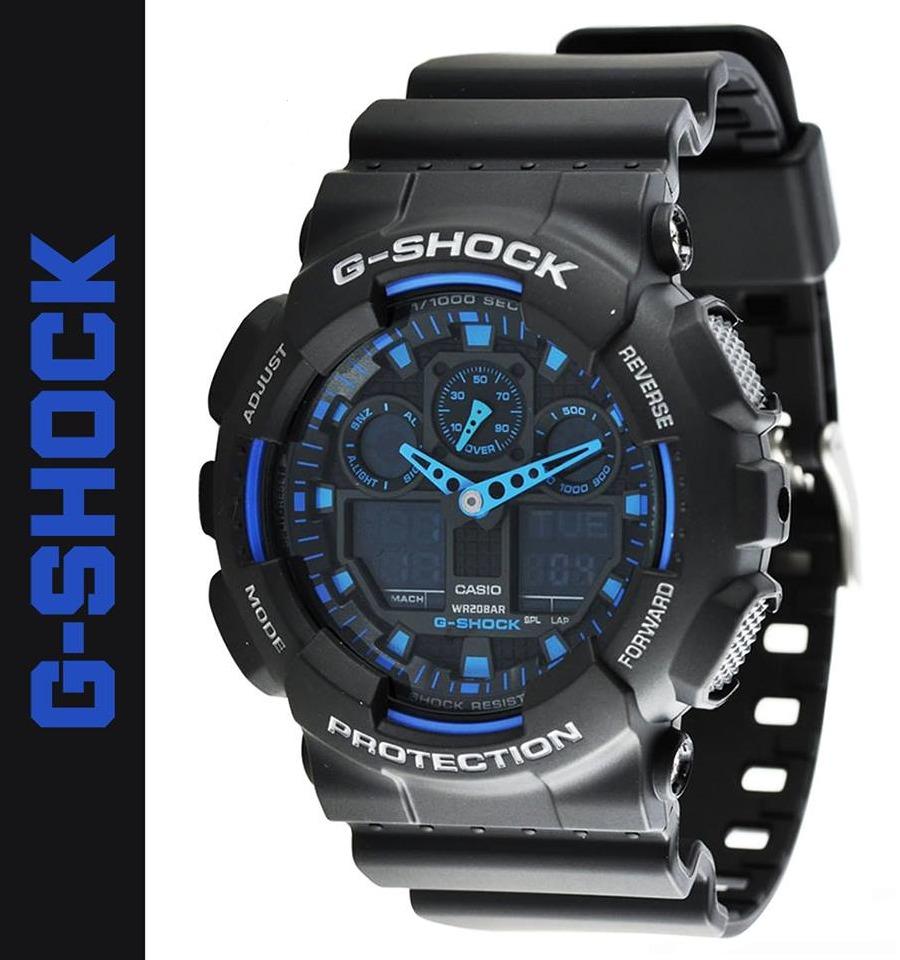 763e8e46dca55 reloj casio g-shock ga-100-1a2 - 100% original en caja. Cargando zoom.
