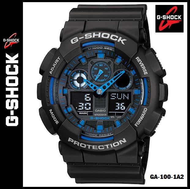7edbd19621ec Reloj Casio G-shock Ga-100-1a2 - 100% Original En Caja - S  399
