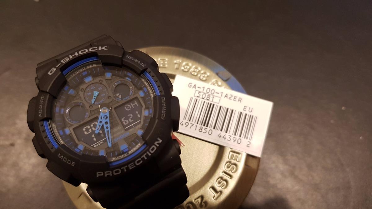 Reloj Casio G Shock Ga 100 1a2er 6 12 Cuotas!