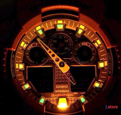 reloj casio g-shock ga-100-1a4 -100% original y nuevo - ztr