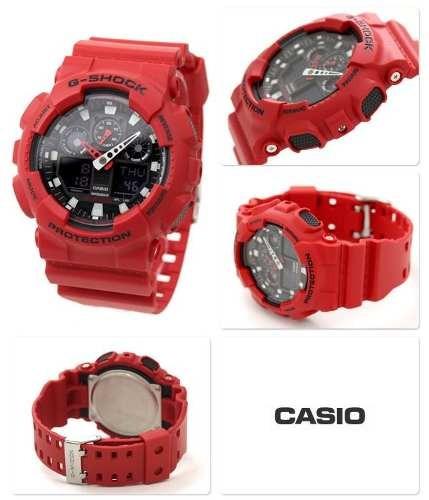 c3e175f8a6d4 reloj casio g shock ga 100 original deportivo para hombre D NQ NP 4676  MEC4922318407 082013 O