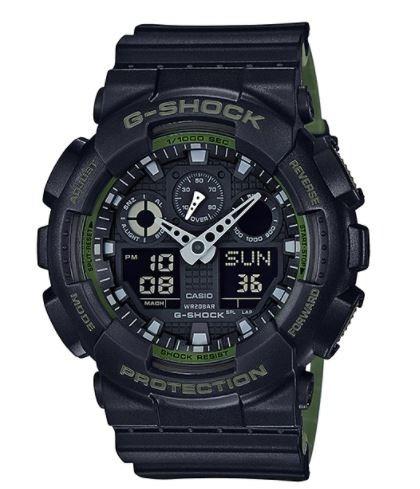 reloj casio g-shock ga-100 resiste golpes cronometro 99 laps
