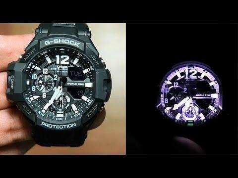 reloj casio g-shock ga-1000- aviador - 100% original   - ztr