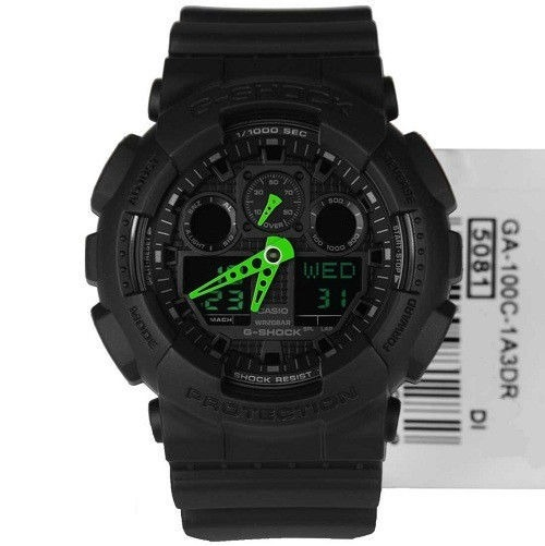 8d9b4c9e0015 Reloj Casio G-shock Ga-100c-1a3 - 100% Nuevo En Caja - S  379