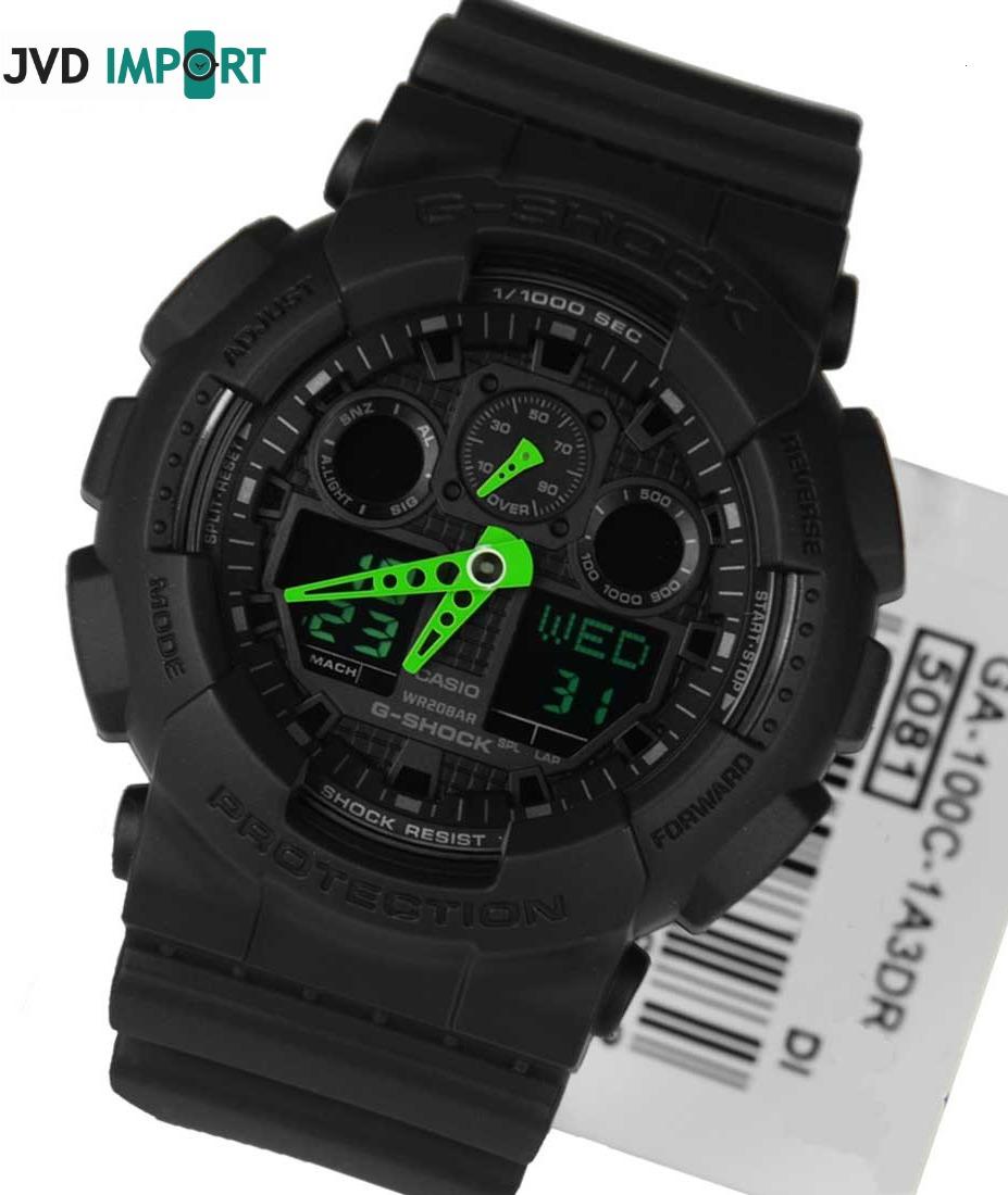 0a27dd87a919d reloj casio g-shock ga-100c-1a3 - 100% original en caja. Cargando zoom.