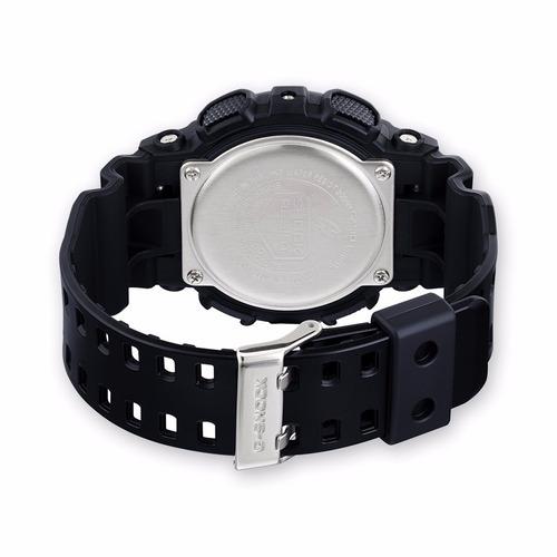 reloj casio g-shock ga 100cb 1a negro azul original