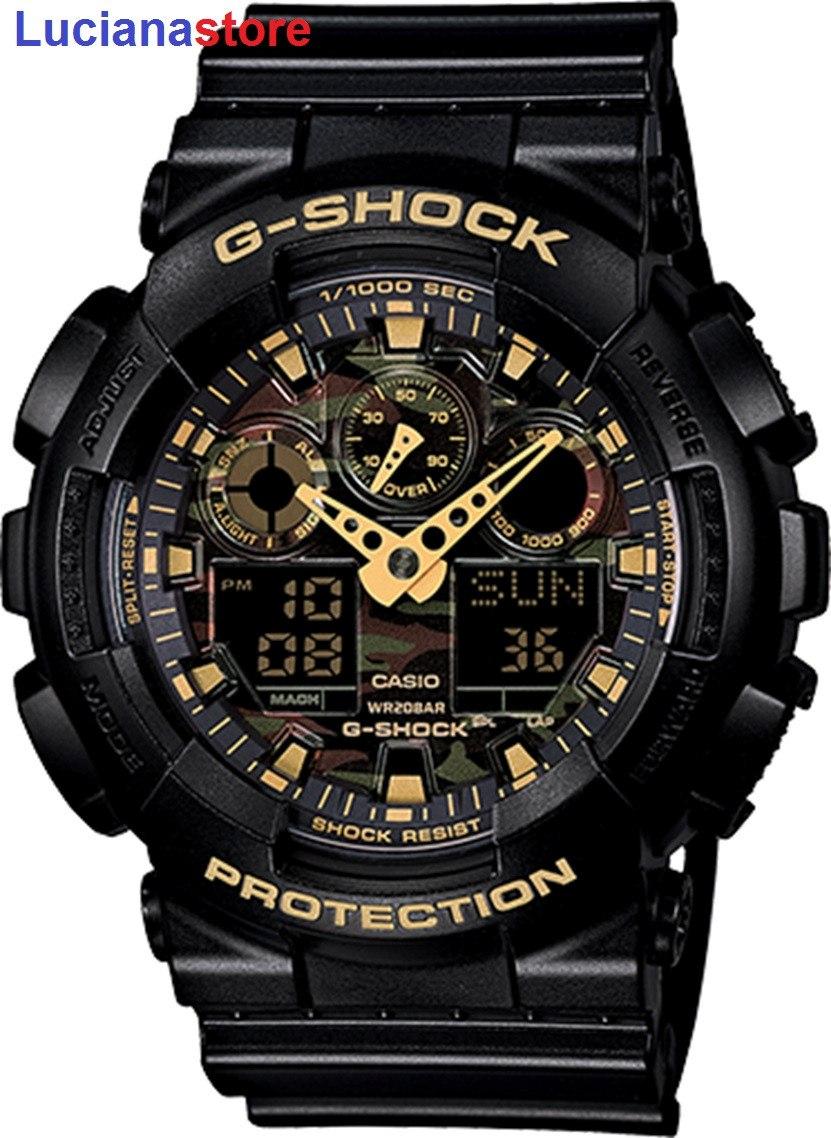 Reloj Casio G Shock Ga 100cf 1a9 100 Original Y Nuevo Ztr