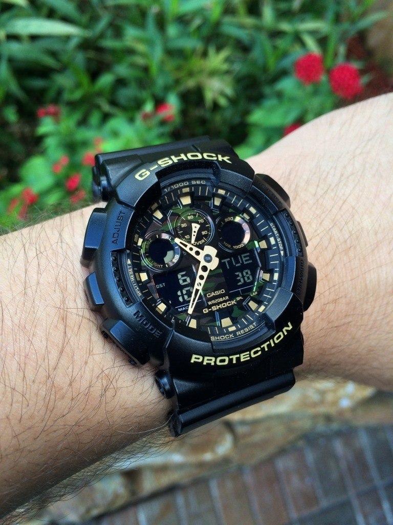 Reloj Casio G Shock Ga 100cf 1a9 Nuevo Y Original En