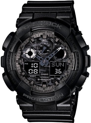 reloj casio g-shock (ga-100cf-1ajf) negro