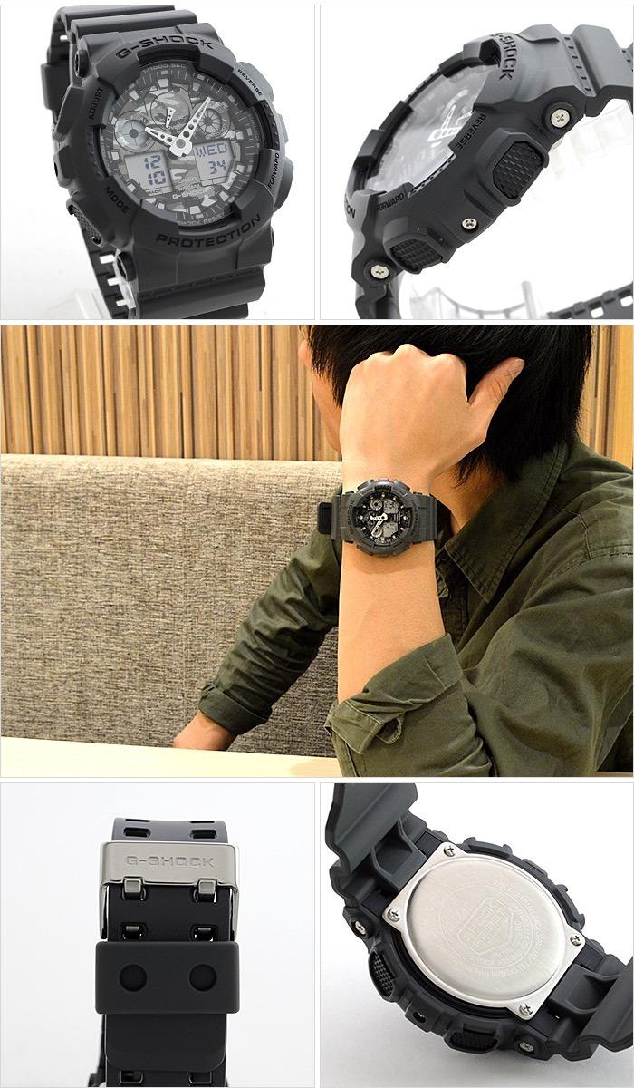 Reloj Casio G-shock Ga-100cf-8a Envío Internacional Cuotas -   7.845 ... 6ef5208b07ef