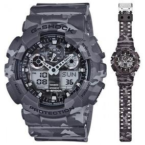 Reloj Casio G shock Ga 100cm 8a Hombre 6 Cuotas Selfie