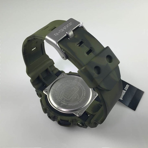 Reloj Casio G Shock Ga 100mm 3 Verde Antimagnetico Wr200m