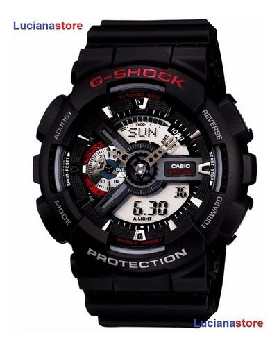 reloj casio g-shock ga-110-1a   100% original y nuevo -  zqr
