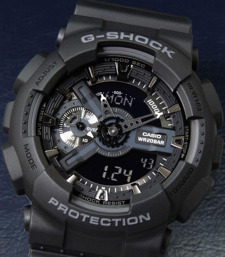 Reloj Casio G-shock Ga-110 - 1bdr Negro -100% Original - Ztr - S ... 6d737f8c3