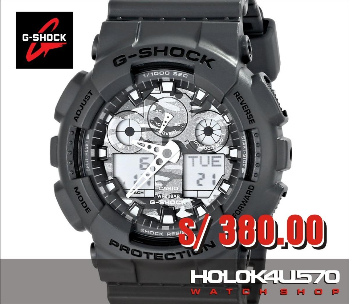 0148aca36b64 Reloj Casio G-shock Ga-110gb-1a - 100% Nuevo Y Original - S  350