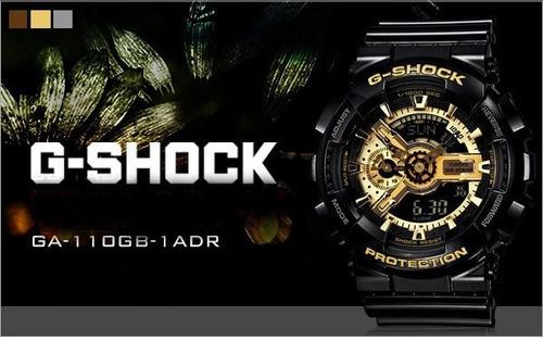reloj casio g-shock ga-110gb original en caja