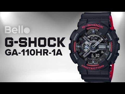 c80b4ba71ce3 Reloj Casio G-shock Ga-110hr-1a - 100% Nuevo En Caja - S  379