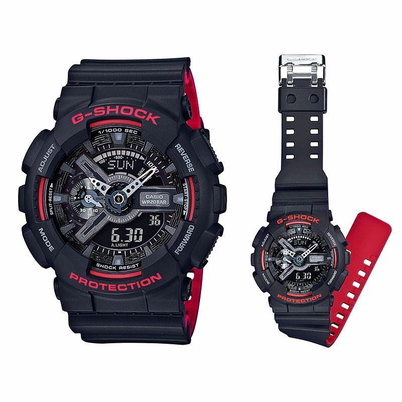 Y G Nuevo Casio Original 1a Reloj 110hr Ga Shock wkPO08n