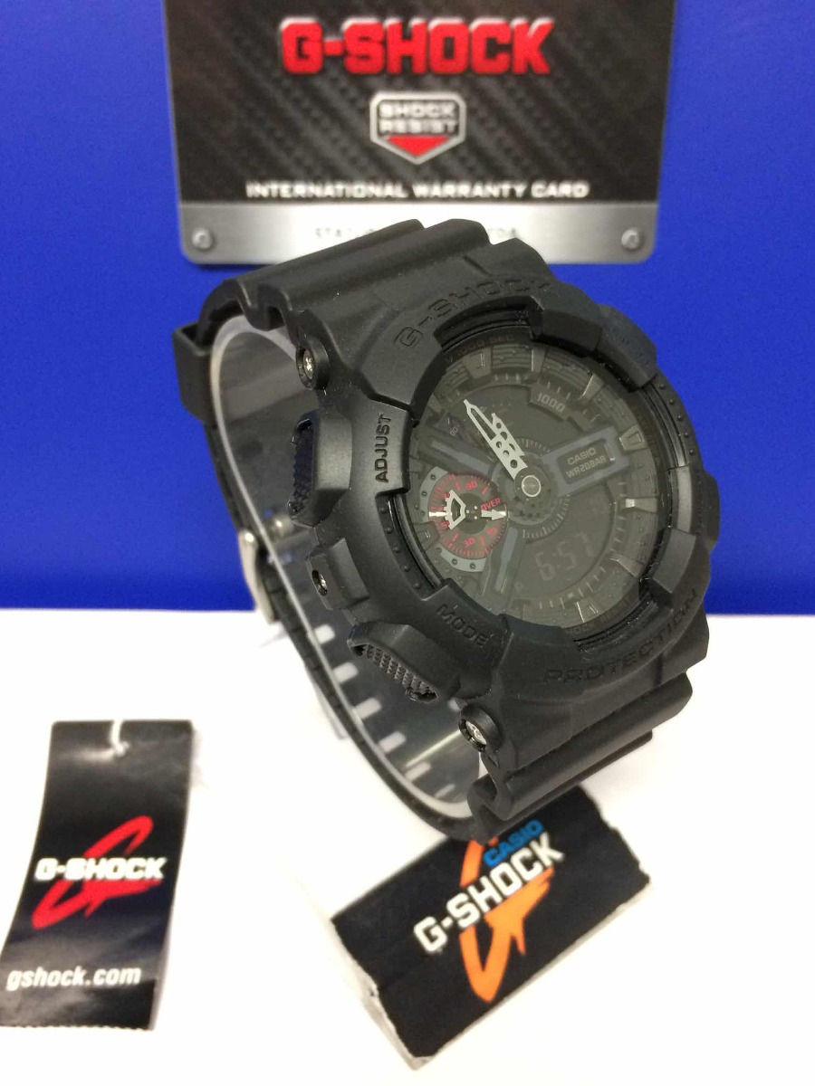9f869990d808 reloj casio g-shock ga-110mb-1a original color negro mate. Cargando zoom.