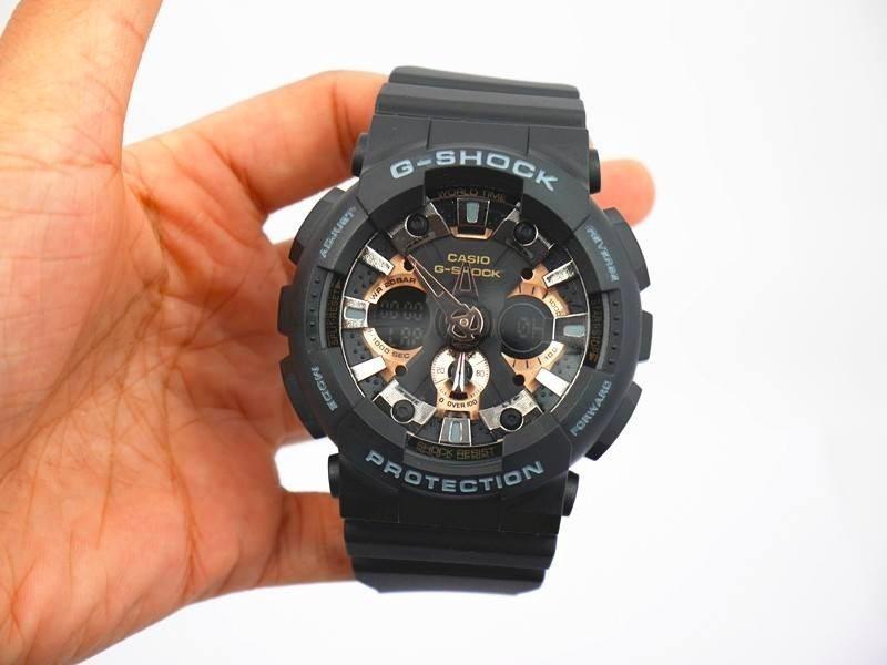 Oro Reloj G Casio Ga Shock Rosa 120 Rg Negro rhdCxtsQ