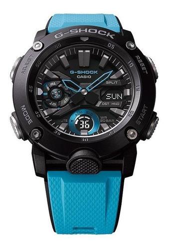 reloj casio g-shock ga-2000-1a2 carbon core guard