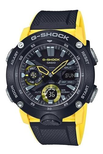 reloj casio g shock ga 2000 1a9 carbon core guard
