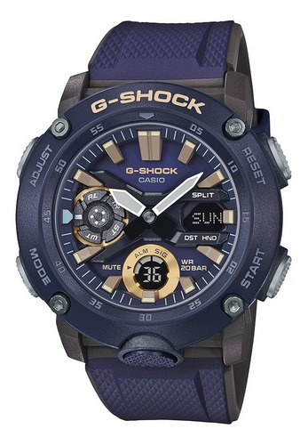 reloj casio g shock ga 2000 2a carbon core guard