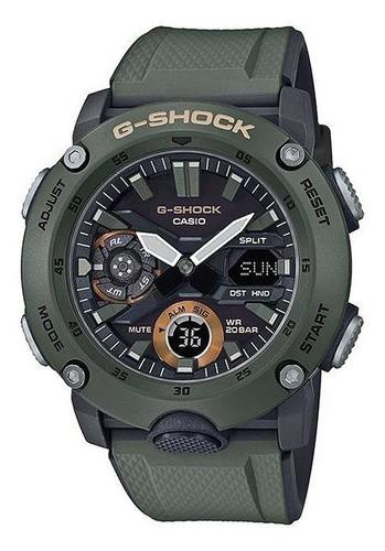 reloj casio g-shock ga-2000-3a carbon