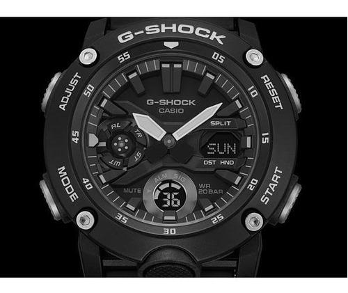 reloj casio g-shock ga-2000s-1a carbon core guard