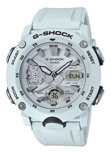 reloj casio g-shock ga-2000s-7a carbon core guard