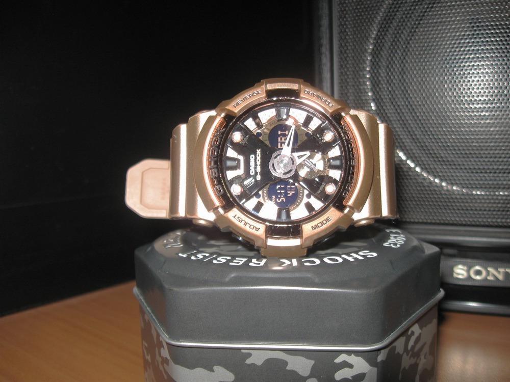 bdf295804cbb reloj casio g-shock ga-200gd militar analogico digital wr. Cargando zoom.