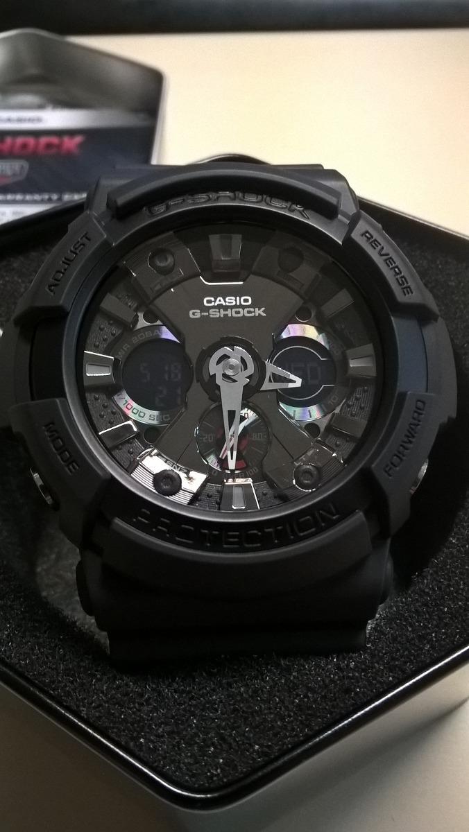 3ef05a6e015b reloj casio g-shock ga-201 color negro nuevo original 100%. Cargando zoom.