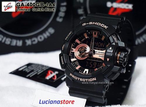 reloj casio g-shock ga 400 - cobre -100% original nuevo  zqr