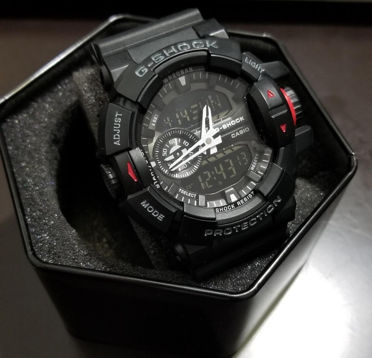a402490fd6 Reloj Casio G-shock Ga-400 Ga 400 Analogico-digital - $ 2,699.00 en ...